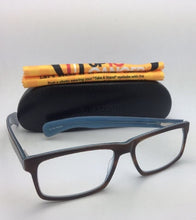 Load image into Gallery viewer, *SALE* New Readers EYE•BOBS Eyeglasses I'M RIGHT 2409 10 Brown Tortoise & Blue Frame