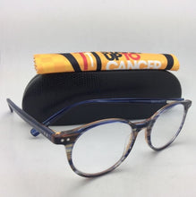 Load image into Gallery viewer, *SALE* New Readers EYE•BOBS Eyeglasses CASE CLOSED 2419 15 49-18 Blue & Brown Striped
