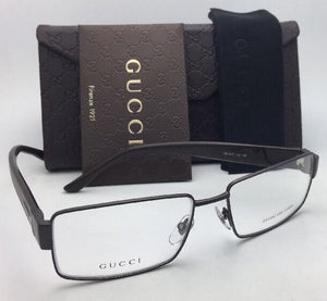 New GUCCI Eyeglasses GG 2217 L13 55-16 Cocoa Brown Frame
