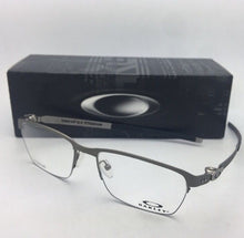 Load image into Gallery viewer, New OAKLEY Eyeglasses TINCUP 0.5 TITANIUM OX5099-0253 53-18 Powder Steel Frames
