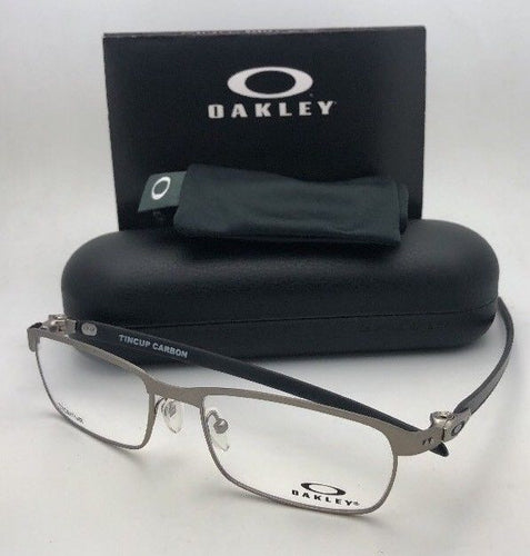 New OAKLEY Eyeglasses TINCUP CARBON OX5094-0452 52-17 Powder Steel-Carbon Fiber