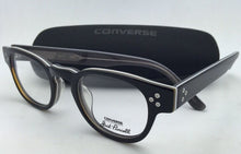 Load image into Gallery viewer, *SALE* New CONVERSE Eyeglasses P002 UF 46-22 150 Black Stripe Frames