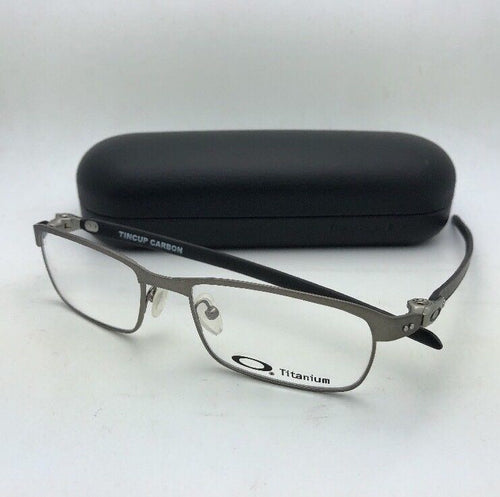 New OAKLEY Eyeglasses TINCUP CARBON OX5094-0450 50-17 Powder Steel-Carbon Fiber