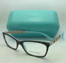 Load image into Gallery viewer, TIFFANY & CO. Eyeglasses ATLAS Collection TF 2103-B 8134 53-16 Tortoise on Blue