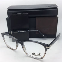Load image into Gallery viewer, New PERSOL Rx-able Eyeglasses 3119-V 1012 53-19 145 Grey Gradient Brown Frames