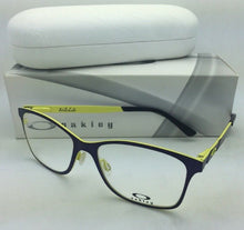 Load image into Gallery viewer, New OAKLEY Eyeglasses VALIDATE OX5097-0153 53-16 Royal Purple on Yellow Frames