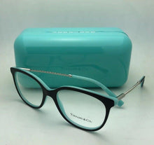 Load image into Gallery viewer, New TIFFANY & CO. Eyeglasses TF 2168 8055 54-17 140 Black Blue & Silver Frames