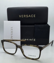 Load image into Gallery viewer, New VERSACE Rx-able Eyeglasses VE 3182 5078 55-17 Dark Green Havana Sand Frames
