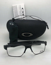 Load image into Gallery viewer, OAKLEY Eyeglasses CROSSLINK SWITCH OX3128-0155 Satin Black w/ Changeable Fronts