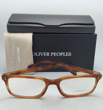 Load image into Gallery viewer, New OLIVER PEOPLES Eyeglasses DENISON OV 5102 1237 51-17 Carretto Tortoise Frame