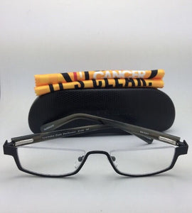 *SALE* New Readers EYE•BOBS Eyeglasses PEEK PERFORMER 2144 07 Black-Black Grey Frames