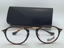 Load image into Gallery viewer, New PERSOL Rx-able Eyeglasses 3046-V 24 49-21 140 Havana Tortoise & Gold Frames