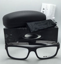 Load image into Gallery viewer, New OAKLEY Eyeglasses CURRENCY OX8026-0554 54-17 Polished Black Frames