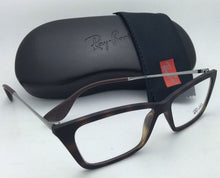 Load image into Gallery viewer, New RAY-BAN Eyeglasses SHIRLEY RB 7022 5365 52-14 Rubber Havana Frames