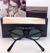 Load image into Gallery viewer, New OLIVER PEOPLES Eyeglasses GREGORY PECK OV 5186 1005 47-23 Round Black Frames