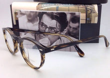 Load image into Gallery viewer, New OLIVER PEOPLES Eyeglasses GREGORY PECK OV 5186 1003 45-23 Round Cocobolo Frames