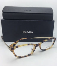 Load image into Gallery viewer, New PRADA Eyeglasses VPR 01R 7S0-1O1 54-16 140 Havana Tortoise & Gold Frame