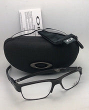 Load image into Gallery viewer, OAKLEY Eyeglasses CROSSLINK SWITCH OX3128-0255 55-18 Pewter w/ changeable Fronts