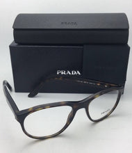 Load image into Gallery viewer, New PRADA Eyeglasses VPR 12S HAQ-1O1 52-18 140 Havana Tortoise Frames