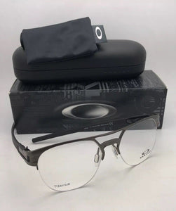 New OAKLEY Eyeglasses LATCH TI OX5134-0454 54-17 137 Matte Cement Titanium Frame