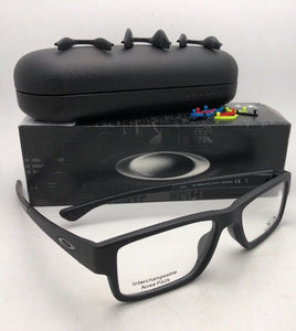 New OAKLEY Eyeglasses AIRDROP MPN OX8121-0153 53-17 Satin Matte Black Frames