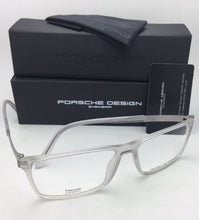 Load image into Gallery viewer, New PORSCHE DESIGN Eyeglasses P'8260 B 56-15 140 Matte Clear Crystal Titanium Frames