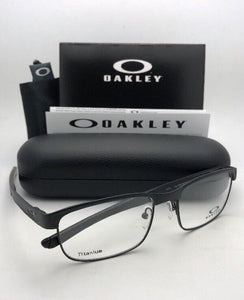 New OAKLEY Titanium Eyeglasses SURFACE PLATE OX5132-0154 54-18 Matte Black Frame