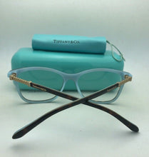 Load image into Gallery viewer, TIFFANY & CO. Eyeglasses TF 2116-B 8134 53-16 140 Tortoise on Blue w/ Crystals
