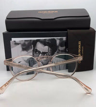 Load image into Gallery viewer, New OLIVER PEOPLES Eyeglasses GREGORY PECK OV 5186 1652 45-23 Round Silk Frames