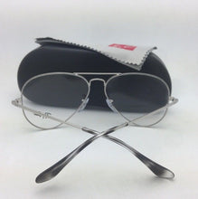 Load image into Gallery viewer, New RAY-BAN Aviator Classic Rx-able Eyeglasses RB 6489 2501 55-14 Silver Frames
