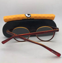 Load image into Gallery viewer, *SALE* New Readers EYE•BOBS Eyeglasses CASE CLOSED 2419 77 49-18 Red Crystal Orange
