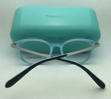 Load image into Gallery viewer, TIFFANY & CO. Eyeglasses TF 2128-B 8193 48-18 140 Black & Silver On Blue Frames