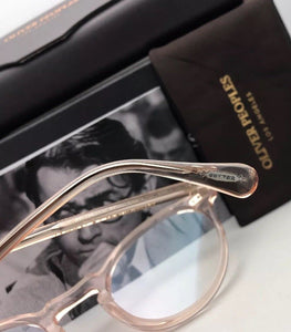 New OLIVER PEOPLES Eyeglasses GREGORY PECK OV 5186 1652 45-23 Round Silk Frames