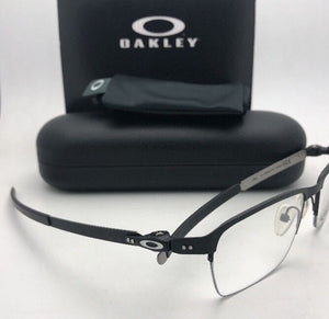 New OAKLEY Eyeglasses TINCUP 0.5 TITANIUM OX5099-0151 51-18 Powder Coal Frames