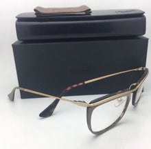 Load image into Gallery viewer, New PERSOL Eyeglasses 3183-V 1005 51-19 145 Matte Tan Gold & Havana Frame