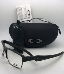 OAKLEY Eyeglasses CROSSLINK SWITCH OX3128-0155 Satin Black w/ Changeable Fronts