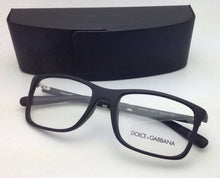Load image into Gallery viewer, DOLCE&GABBANA Rx-able Eyeglasses DG 5004 2616 55-17 135 Black Rubberized Frames