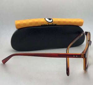*SALE* New Readers EYE•BOBS Eyeglasses CASE CLOSED 2419 77 49-18 Red Crystal Orange