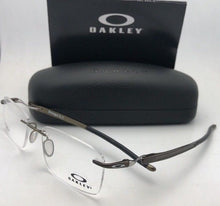 Load image into Gallery viewer, New OAKLEY Eyeglasses GAUGE 3.1 OX5126-0252 52-18 137 Pewter Rimless Frames