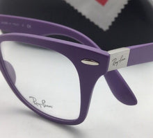 Load image into Gallery viewer, New RAY-BAN Eyeglasses LITEFORCE RB 7034 5443 50-19 150 Lightweight Violet Frame