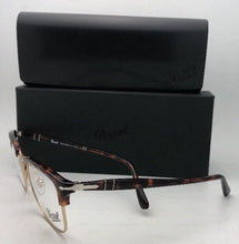 Load image into Gallery viewer, New PERSOL Rx-able Eyeglasses 8359-V 24 53-19 145 Havana Tortoise & Gold Frame