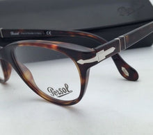 Load image into Gallery viewer, New PERSOL Rx-able Eyeglasses 3036-V 24 50-19 140 Havana Tortoise Frame