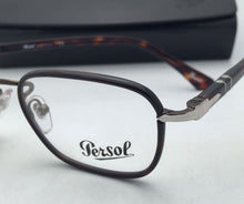 Load image into Gallery viewer, New PERSOL Rx-able Eyeglasses 2423-V-J 992 48-20 140 Brown Havana Frame