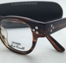 Load image into Gallery viewer, *SALE* New CONVERSE Eyeglasses P002 UF 46-22 150 Brown Horn Frame