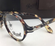 "Load image into Gallery viewer, ""Typewriter Edition"" PERSOL Eyeglasses 3128-V 1057 44-22 Havana Grey-Brown Frame"