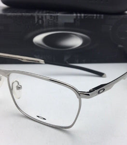 New OAKLEY Eyeglasses CONDUCTOR OX3186-0352 52-17 137 Polished Chrome Frames