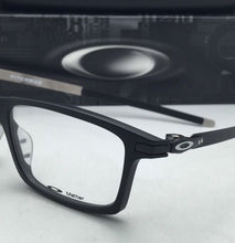 Load image into Gallery viewer, New OAKLEY Eyeglasses PITCHMAN OX8050-0153 53-18 Matte Black Rectangular Frames