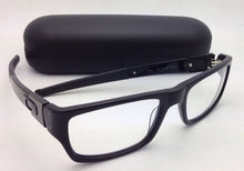 Load image into Gallery viewer, New OAKLEY Eyeglasses MUFFLER 22-202 53-18 Black Rectangular Plastic Frame