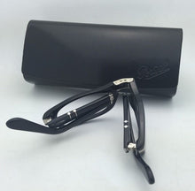 Load image into Gallery viewer, Folding PERSOL Rx-able Eyeglasses 2886-V 95 51-22 145 Black Frames