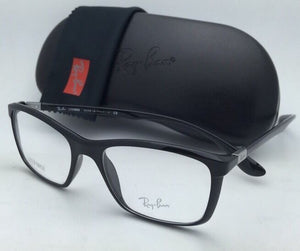 34cacce5b63 New RAY-BAN Eyeglasses LITEFORCE RB 7036 5206 52-17 145 Shiny Black Frames